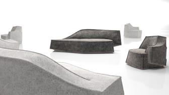 Airberg av Jean-Marie Massaud vinner pris för bästa soffa i Muuuz International Awards 2014 (MIAW2014)