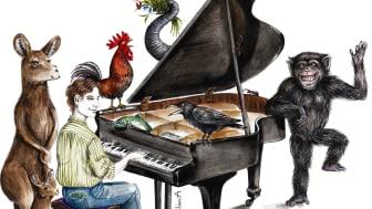 Djurens karneval. Illustration: Elin Andersson.