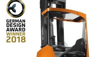German Design Award 2018 till skjutstativtrucken BT Reflex i R-serien