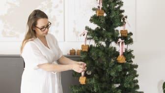 _Gille Mini Pepparkakshus hänga i julgranen