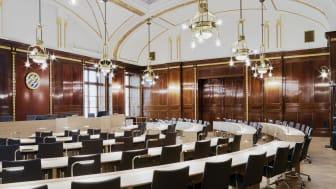 Kommunfullmäktigesalen i Börsen. Foto: Higab/Bert Leandersson