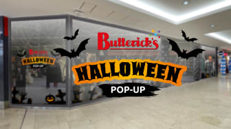 Butterick's öppnar pop-up-butik i Täby Centrum