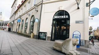Waynes öppnar nytt kafé på Tanneforsgatan