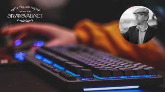 Skyddsvärnet inleder ett samarbete med Sven Rollenhagen, specialist på datorspelsberoende och hemmasittarfrågor.