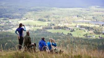 Flere og flere regioner i Sverige sæsonudvider med sjove sommeroplevelser, og det giver nye muligheder for friluftsfolk og alle dem der bare gerne vil ud i naturen. Foto: Hovfjället