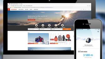 Nye SkiStar.com på webb og mobil
