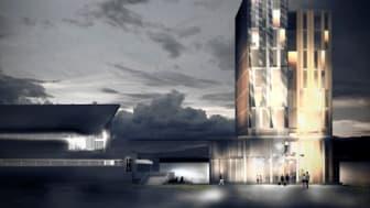 Koncepthotell för Hernö Gin med närhet till staden och havet.