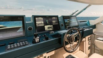 High res image - Raymarine - MCY 76 Skylounge with DockSense