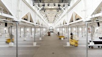 Øksnehallen, som var stedet hvor Træfpunkt HR skulle have været afholdt.