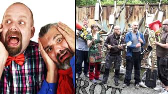 Konserten När hjärtat svämmar över och musikgruppen SKROT är något som alla förskolor i Hörby kommun får uppleva i vår.