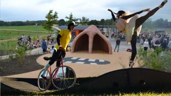 Alletiders genåbningsfest på Cykelmyggens Cykellegeplads
