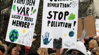 Skolestreik for klimaet i Oslo 22. mars 2019. Foto: By GGAADD - IMG_6722, CC BY-SA 2.0, Wikimedia Commons