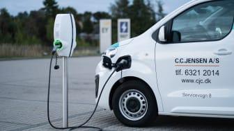 SEF Energi Ladestandeløsning til C.C. Jensen
