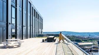 Bygget Parallell på Løren i Oslo treffer godt på flere av Bygg21s kvalitetsprinsipper for gode bygg. Foto: Skanska