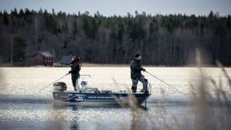 Båtmässans sportfiskeavdelning blir större i år, vilket speglar det stora sportfiskeintresset.