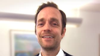 Henrik Lyckekrantz regionchef SMC Pneumatics Syd
