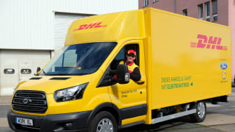Deutsche Post DHL Group og Ford presenterte i dag den første av i alt 150 elektriske varebiler de skal produsere i fellesskap i løpet av året.