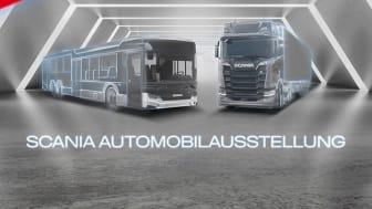 Die virtuelle Scania Automobilausstellung ist eröffnet und lädt bis 25. Oktober 2020 zu einem spannenden Webevent.