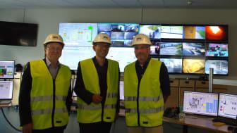 Mattias Goldmann besökte Skövde Värmeverk