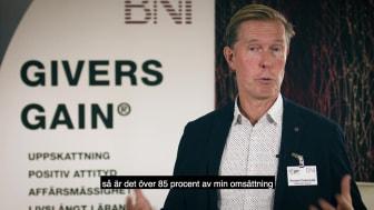 Richard: BNI-konsult och egenföretagare är en winwin-situation!