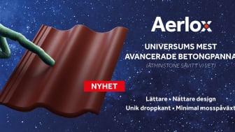Nyhet! Aerlox – universums mest avancerade takpanna