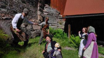 Hyttans Hemligheter i Löa - en av de kulturverksamheter som får stöd från Sparbanksstiftelsen Bergslagen.