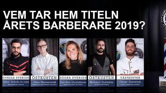 Vem tar hem titeln Årets barberare 2019?