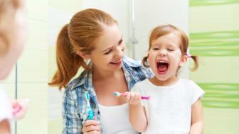 Zahngesundheit kann auch den kleinsten schon Spaß bereiten!