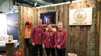 Fire Log blev Årets monter. Foto: Martin Ulvbäck