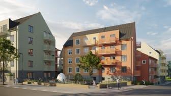212 hyresrätter i Sigtuna stadsängar - Sveriges mest hållbara stadsdel