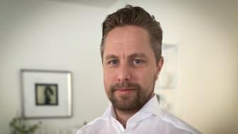 Johan Gustafsson, ny General Manager för Zeppelin Sverige AB:s division Mining.