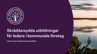 """Kommunala företagens ledarskapsakademi: """"Vi siktar på fysiska träffar i höst"""""""
