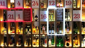 Årets adventskalender i baren på Clarion Hotel Sign