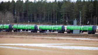 Green Cargo och St1 fokuserar på kvalitet och punktlighet