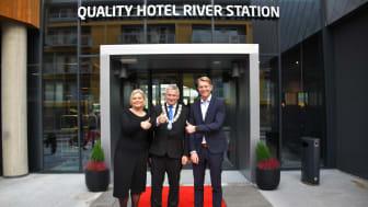 Quality Hotel River Station åpner endelig dørene (Foto: Anna NovaLova)