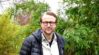 Johan Rehngren blir Göteborgs stadsträdgårdsmästare. Foto: park- och naturförvaltningen