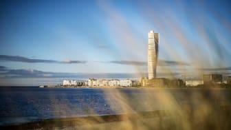 Turning Torso var när det byggdes Europas näst högsta bostadshus. Foto: Anna Wahlgren