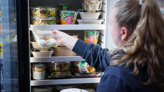 Vi jobbar ständigt med att utveckla och uppdatera våra minibutiker med härliga vegonyheter. Foto: Petrus Iggström
