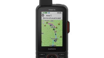 Der GPSMAP 66i mit vorinstallierter TopoActive Europa-Karte.