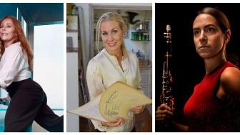Rachel Mohlin, Cathrine Winnes, Sandra Ibarreche Burgos. Några av kvinnorna på Musikaliska våren 2020.