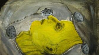"""Lina Bjerneld """"Rest"""", olja på duk, 46x35 cm, 2019"""