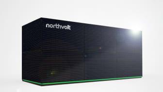 Northvolt ESS (Energy Storage Solution) product.
