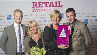 Vinnare Årets säkerhetslösning, Retail Awards 2012, KF/Coop