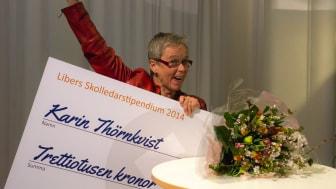 Karin Thörnkvist i Hässleholm får Libers Skolledarstipendium!
