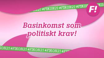 Feministiskt initiativ antar politik för basinkomst