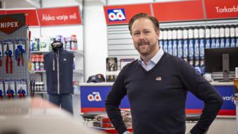 Fredrik Bjerngren, försäljnings- och marknadschef, AD Sverige