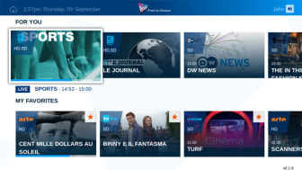 Eutelsat's Sat.tv app now available on connected TVs