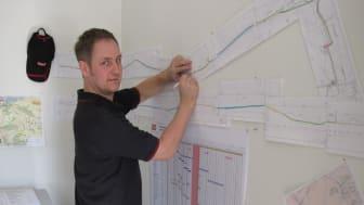 Schaktfri ledningsdragning när Lerums kommun agerar för miljön