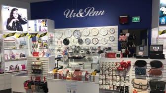 Uudistunut Ur&Penn-myymälä avasi ovensa Itäkeskuksessa