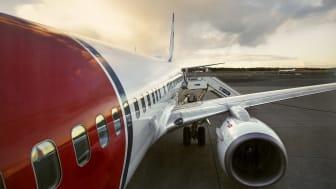 Boeing 737-800 Norwegian.